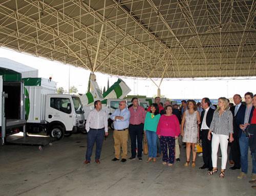 """Pilar Parra subraya que Resurja ha conseguido """"un sistema modélico"""" para la gestión de residuos en cualquier punto de la provincia"""
