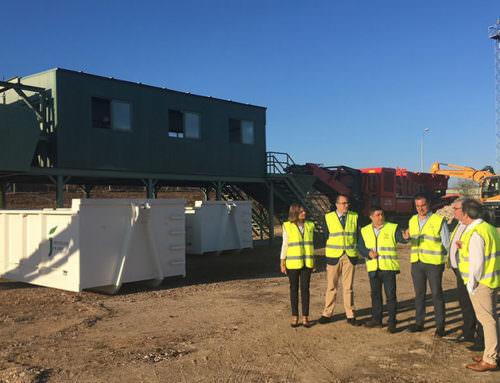 Abre en Jaén capital una nueva planta para el tratamiento de los residuos de la construcción y la demolición