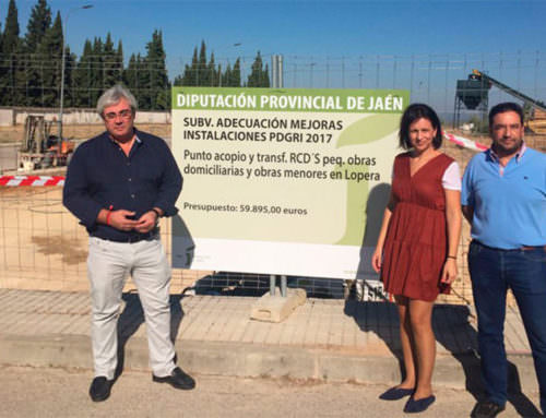 Lopera, Begíjar y Carboneros contarán con puntos para residuos de la construcción y la demolición