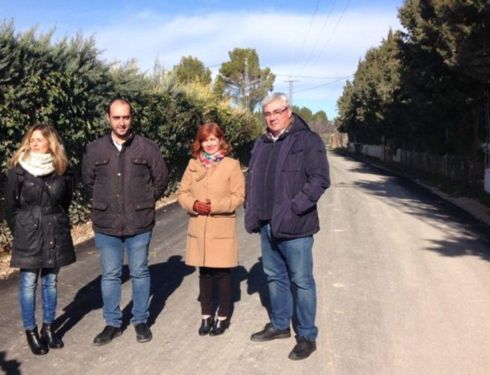 Diputación destina casi 54.000 euros a mejorar el acceso a la Planta de Tratamiento de Residuos de la Construcción de Úbeda.