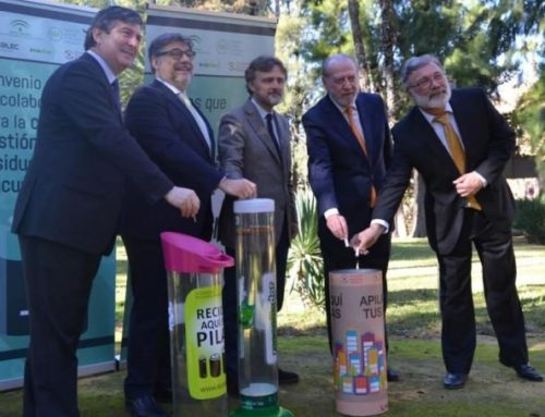 Andalucía avanza en la gestión de residuos de pilas y acumuladores