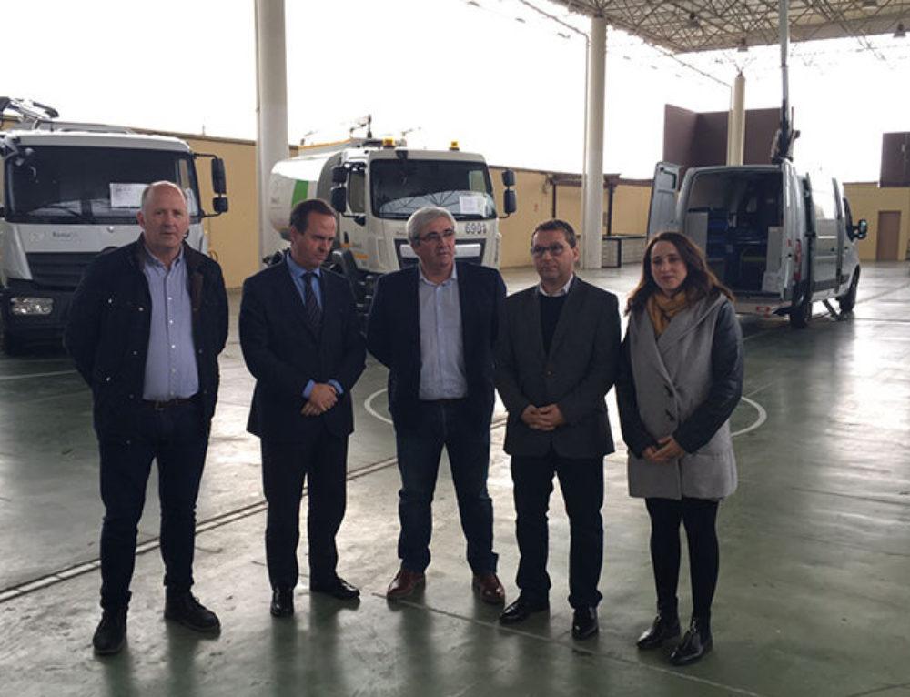 La limpieza viaria de Andújar mejora sus prestaciones con la incorporación de nuevos equipos especializados por Resurja