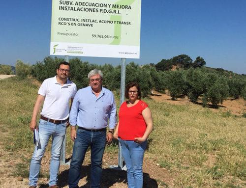 Génave estará entre los 52 municipios jiennenses que contarán con un punto de acopio de residuos de la construcción