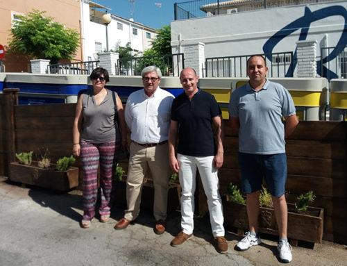 Diputación destina 40.000 euros a mejorar la integración visual de contenedores en calles de Jódar