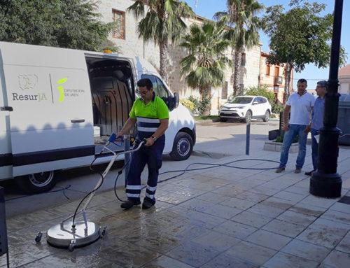 Dispositivo especial de limpieza viaria durante las fiestas de Jabalquinto