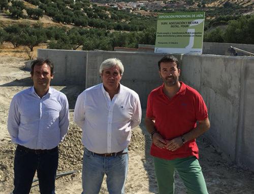 Diputación invierte 100.000 euros en la construcción de un punto de acopio de residuos de la construcción en Huesa