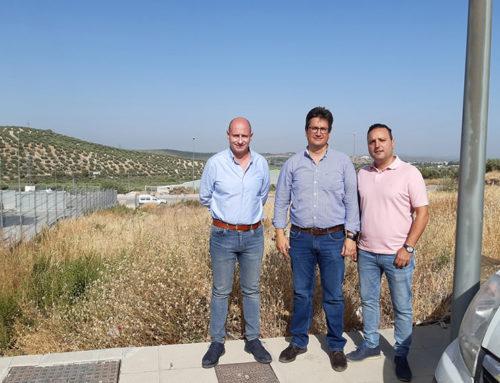 Diputación dotará a Jamilena de una planta de acopio de residuos de la construcción y la demolición