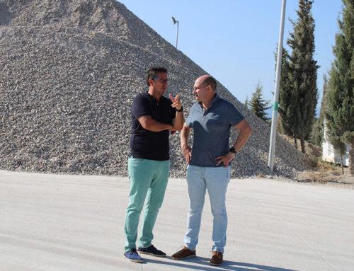 Diputación invertirá 184.000 euros en la ampliación de planta de tratamiento de escombros de Úbeda