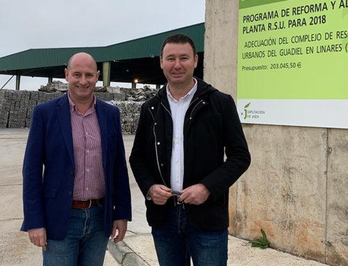 La Diputación destinará 310.000 euros a la ampliación del complejo de tratamiento de residuos de El Guadiel.
