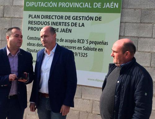 Diputación ejecuta obras en Sabiote por valor de 137.000 € para mejorar el abastecimiento y la recogida de escombros