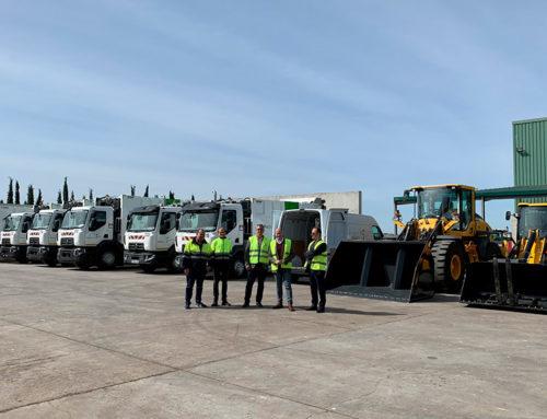 Resurja, empresa mixta participada por Diputación, invierte más de un millón de euros en la renovación de su flota