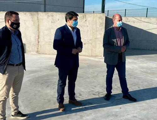 Marmolejo cuenta ya con un punto de acopio de residuos de la construcción