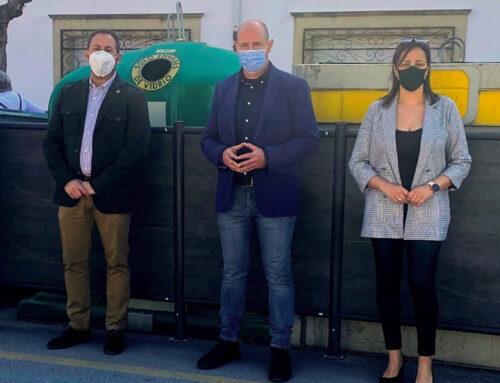 Instalación de sistemas de mimetización de contenedores en Ibros