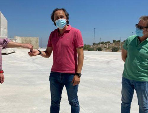 La Diputación invierte cerca de 80.000 euros en el punto de acopio de residuos inertes de Torredelcampo