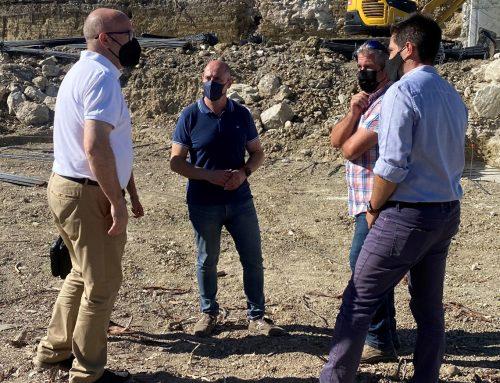 Diputación invertirá más de 105.000 euros en el punto de acopio de residuos de la construcción de Torredonjimeno