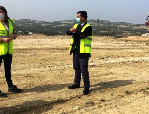 La Diputación finaliza el sellado y desgasificación del segundo vaso del vertedero Jaén-Sierra Sur